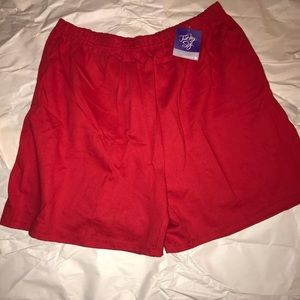 Just my size red shorts